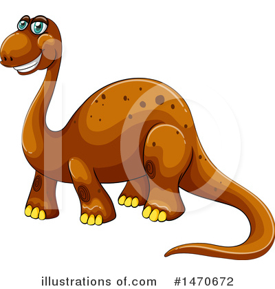 Brontosaurus Clipart #1470672 by Graphics RF