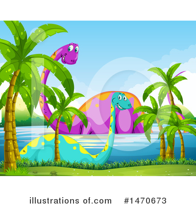 Brontosaurus Clipart #1470673 by Graphics RF