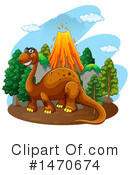 Brontosaurus Clipart #1470674 by Graphics RF