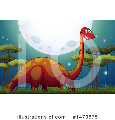 Brontosaurus Clipart #1470675 by Graphics RF