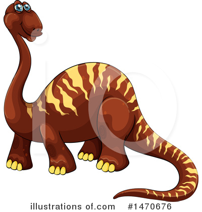Brontosaurus Clipart #1470676 by Graphics RF