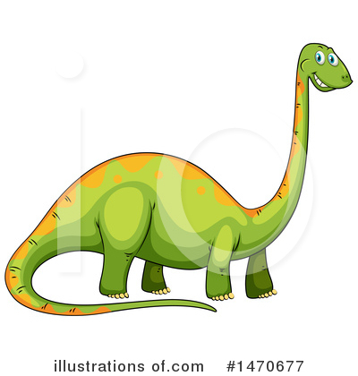 Dinosaur Clipart #1470677 by Graphics RF