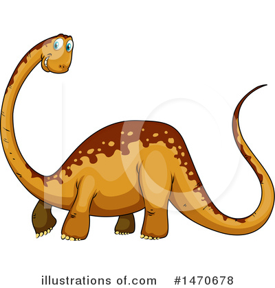 Brontosaurus Clipart #1470678 by Graphics RF
