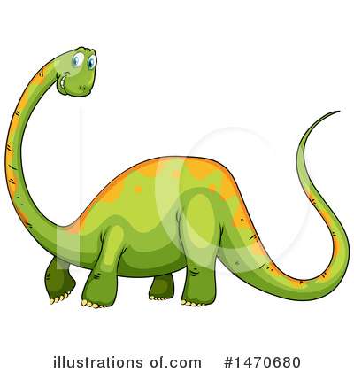 Brontosaurus Clipart #1470680 by Graphics RF