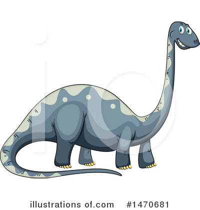 Brontosaurus Clipart #1470681 by Graphics RF