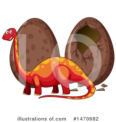 Brontosaurus Clipart #1470682 by Graphics RF