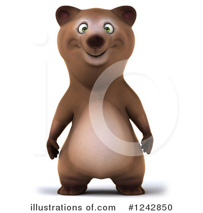 Brown Bear Clipart #1242850 by Julos