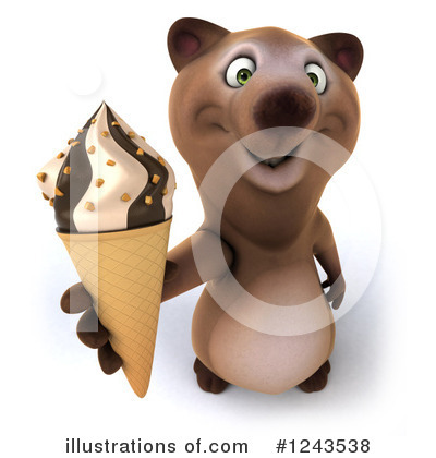 Brown Bear Clipart #1243538 by Julos