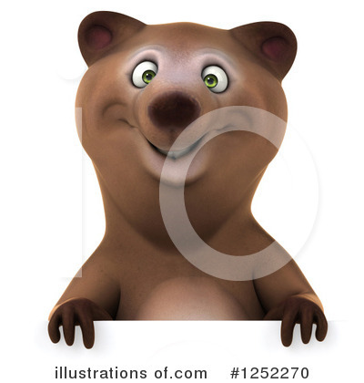 Brown Bear Clipart #1252270 by Julos