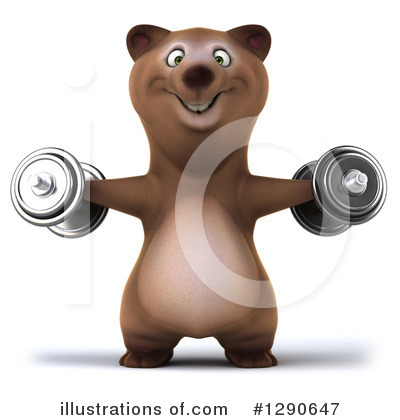 Brown Bear Clipart #1290647 by Julos