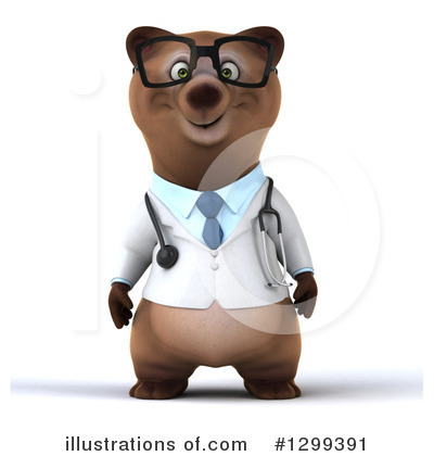 Brown Bear Clipart #1299391 by Julos