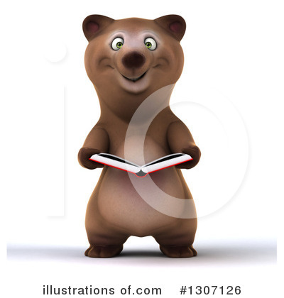 Brown Bear Clipart #1307126 by Julos