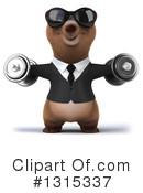 Brown Bear Clipart #1315337 by Julos