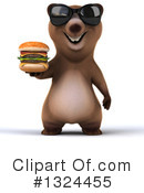 Brown Bear Clipart #1324455 by Julos