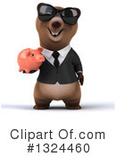 Brown Bear Clipart #1324460 by Julos