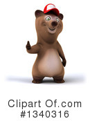 Brown Bear Clipart #1340316 by Julos