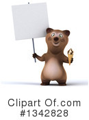 Brown Bear Clipart #1342828 by Julos