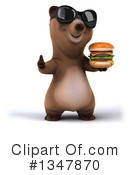 Brown Bear Clipart #1347870 by Julos