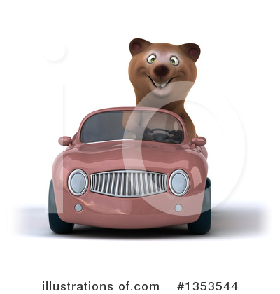 Brown Bear Clipart #1353544 by Julos