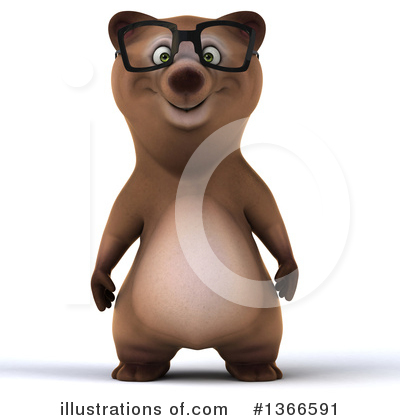 Brown Bear Clipart #1366591 by Julos