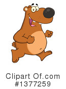 Brown Bear Clipart #1377259 by Hit Toon