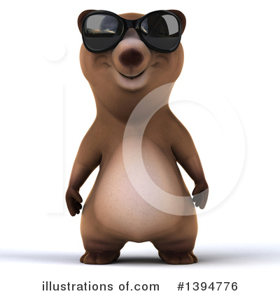 Brown Bear Clipart #1394776 by Julos