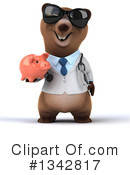 Brown Bear Doctor Clipart #1342817 by Julos