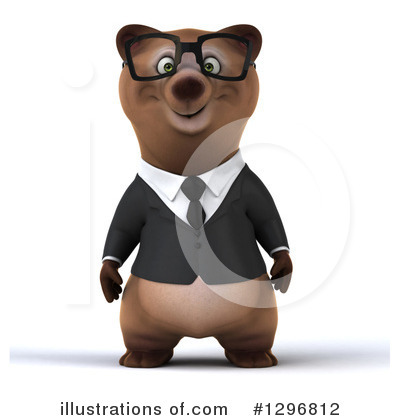 Brown Bear Clipart #1296812 by Julos