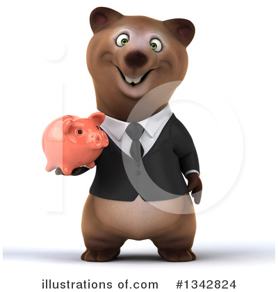 Brown Bear Clipart #1342824 by Julos