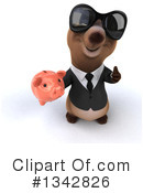 Brown Business Bear Clipart #1342826 by Julos