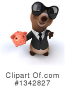 Brown Business Bear Clipart #1342827 by Julos
