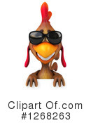Brown Chicken Clipart #1268263
