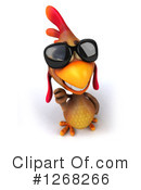 Brown Chicken Clipart #1268266