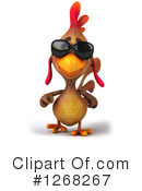 Brown Chicken Clipart #1268267