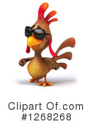 Brown Chicken Clipart #1268268