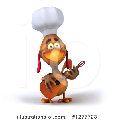 Chef Chicken Clipart #1277723 by Julos