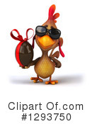 Brown Chicken Clipart #1293750 by Julos