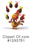 Brown Chicken Clipart #1293751 by Julos