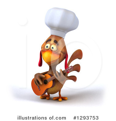Chef Chicken Clipart #1293753 by Julos