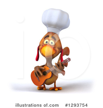 Chef Chicken Clipart #1293754 by Julos