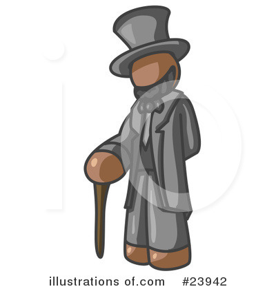 Abraham Lincoln Clipart #23942 by Leo Blanchette