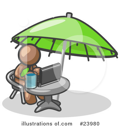 Vacation Clipart #23980 by Leo Blanchette
