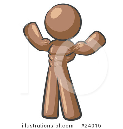 Brown Collection Clipart #24015 by Leo Blanchette