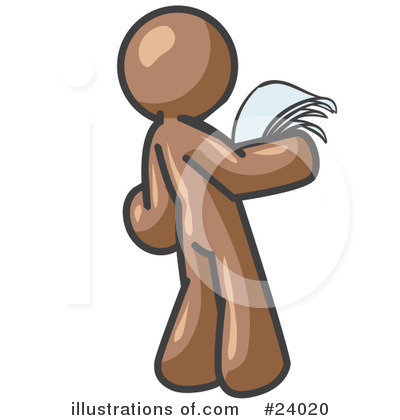 Brown Collection Clipart #24020 by Leo Blanchette