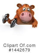 Brown Cow Clipart #1442679 by Julos