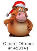 Brown Cow Clipart #1453141 by Julos