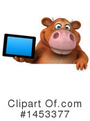 Brown Cow Clipart #1453377 by Julos