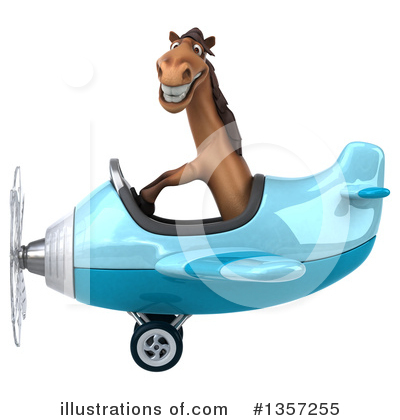 Brown Horse Clipart #1357255 by Julos