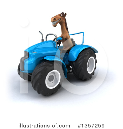 Royalty-Free (RF) Brown Horse Clipart Illustration by Julos - Stock Sample #1357259