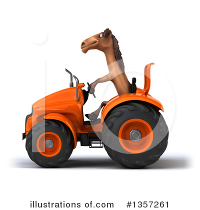 Brown Horse Clipart #1357261 by Julos